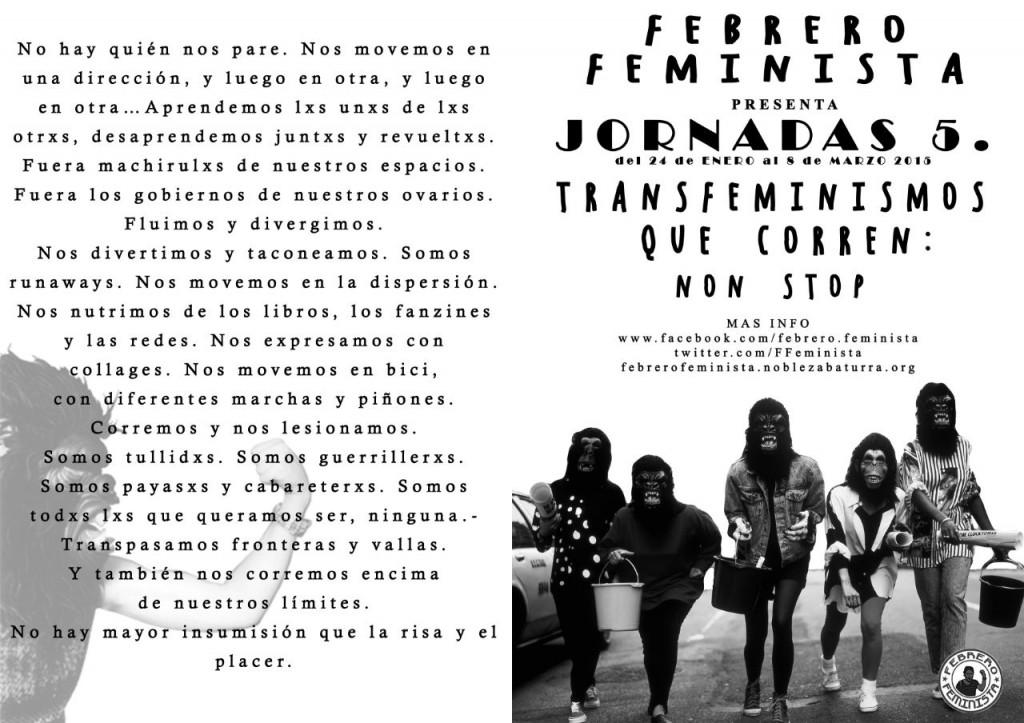 cartel y manifiesto FFV